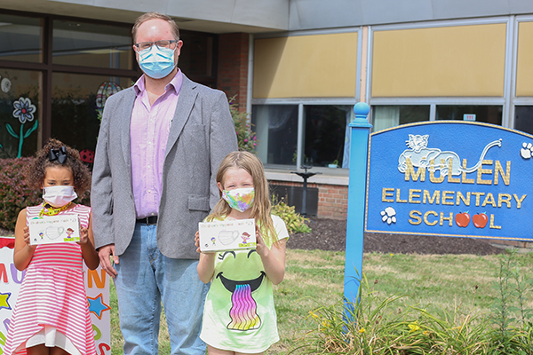 Children's masks donated to TCSD by local businesses