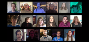 "HS musical cast sings ""Seasons of Love"" in virtual choir"
