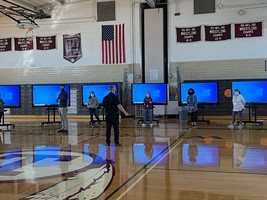 Mobile LED flat panels being rolled out to teachers