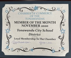 Tonawanda CSD is Chamber of Commerce of the Tonawandas Member of the Month
